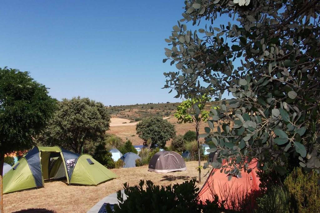 acampada serradilla del arroyo