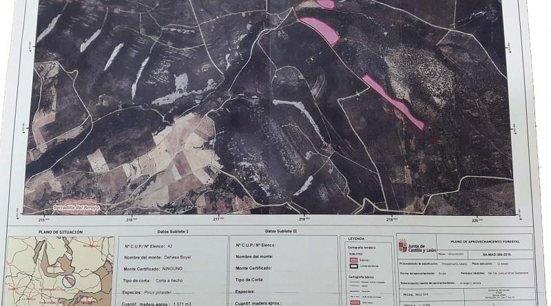 mapa dehesa boyal