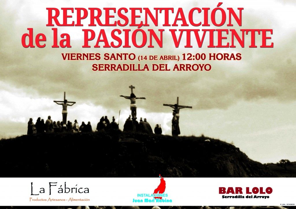 cartel pasion serradilla 2017